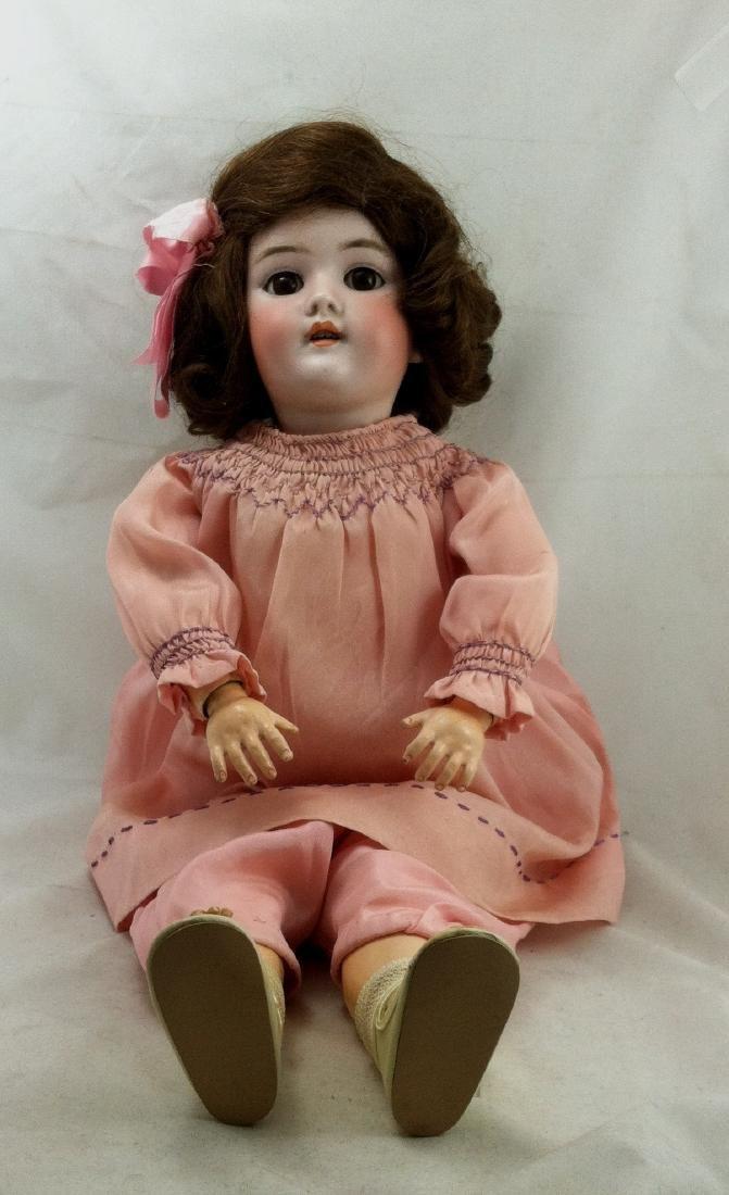 """Antique 20"""" Bisque Head Handwerck Doll - 2"""