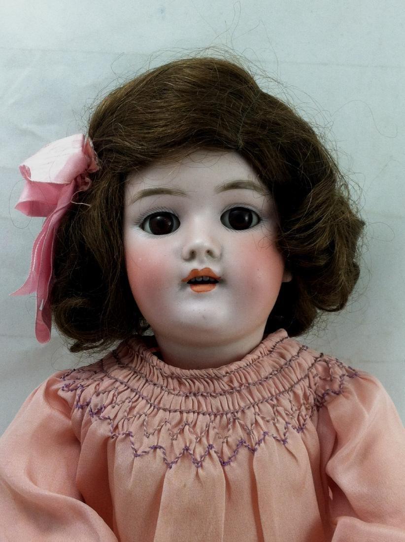 """Antique 20"""" Bisque Head Handwerck Doll - 3"""