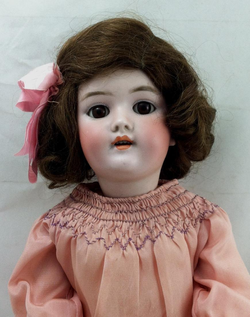 """Antique 20"""" Bisque Head Handwerck Doll - 6"""