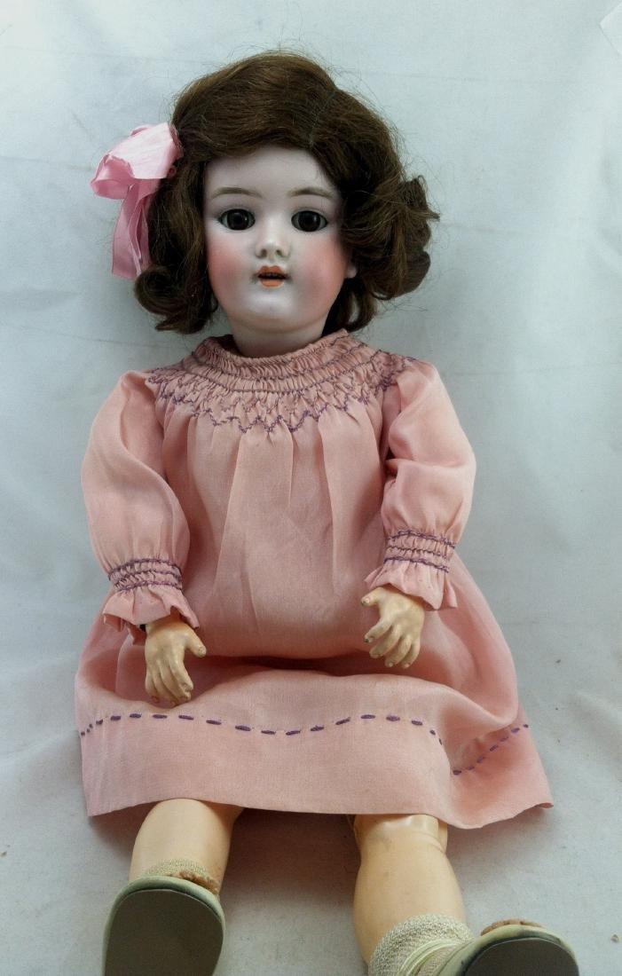"""Antique 20"""" Bisque Head Handwerck Doll - 9"""