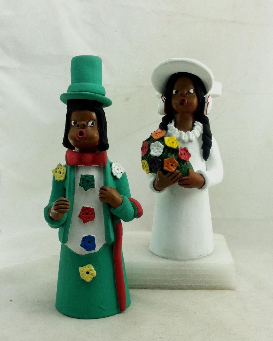 Wedding Couple Dolls by Manuel Eudoicio of Brazil - 9