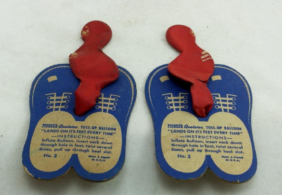 3pc.Lot:1 Shmoo & 2 Qualatex TossUp Balloon Feet - 2