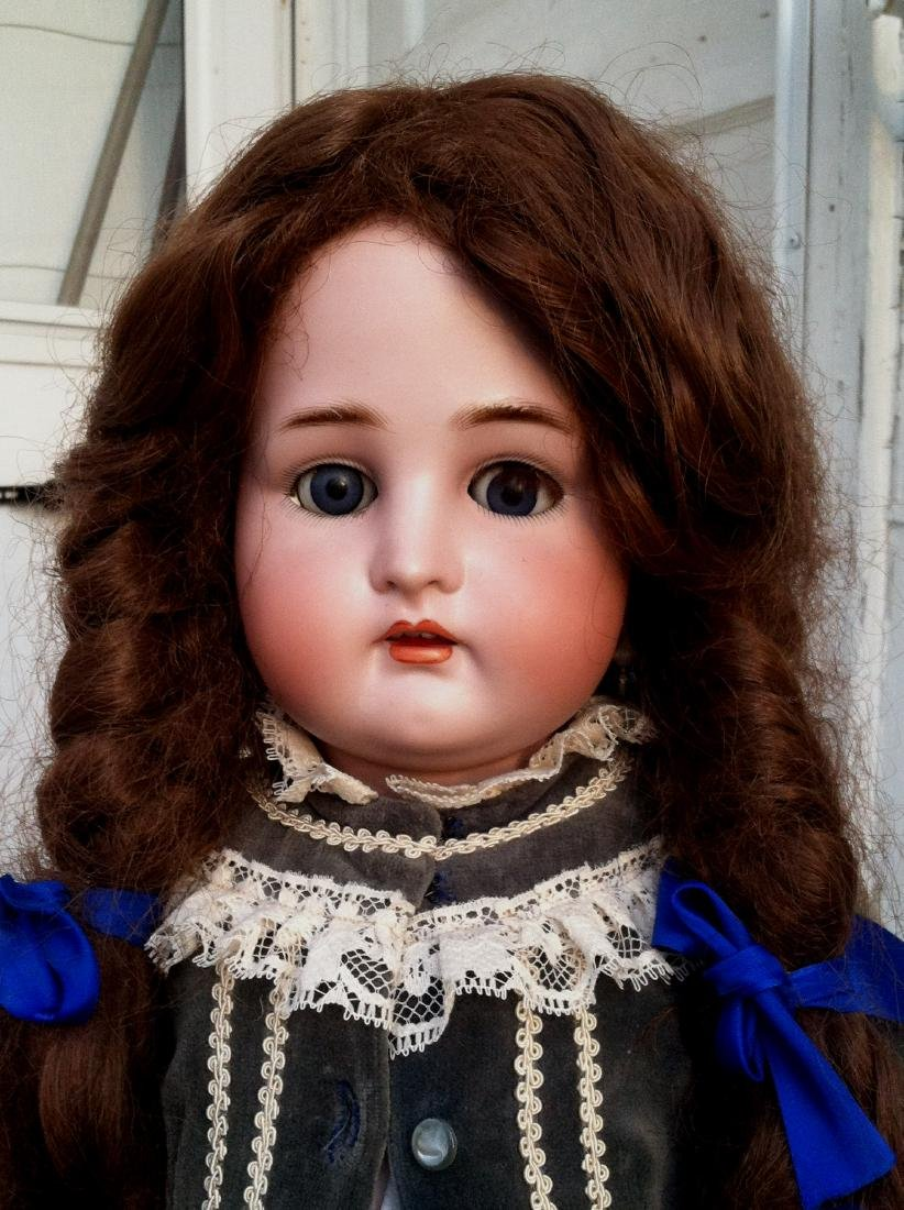 Large Bisque Head Doll by Simon & Halbig - 10