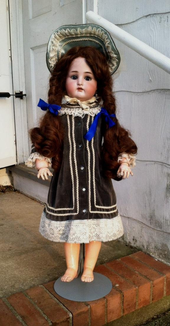 Large Bisque Head Doll by Simon & Halbig