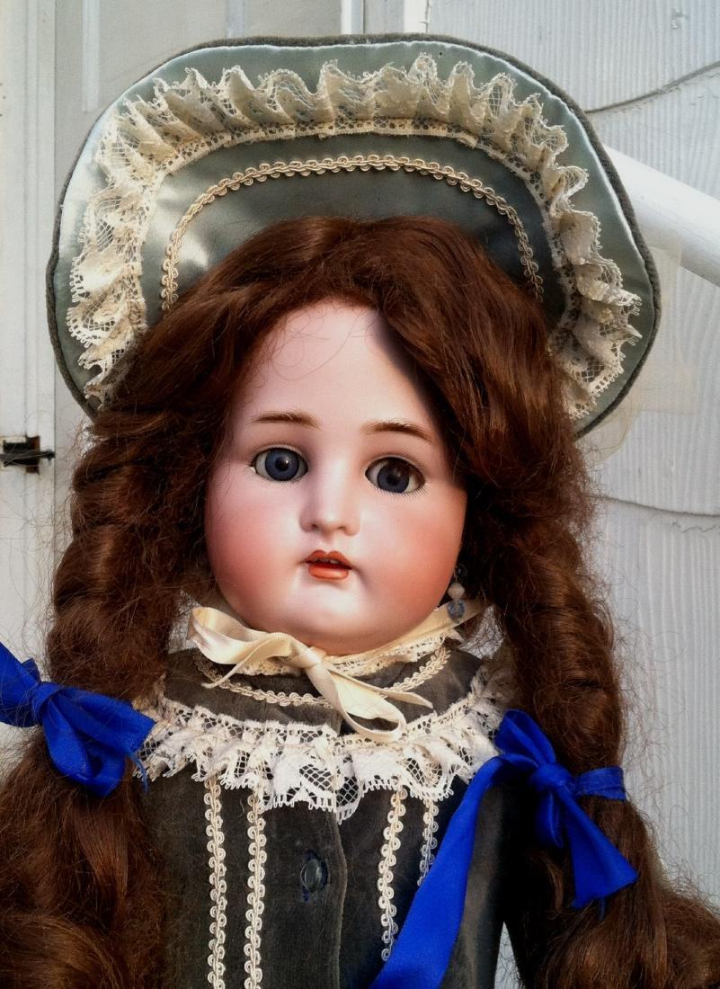 Large Bisque Head Doll by Simon & Halbig - 2