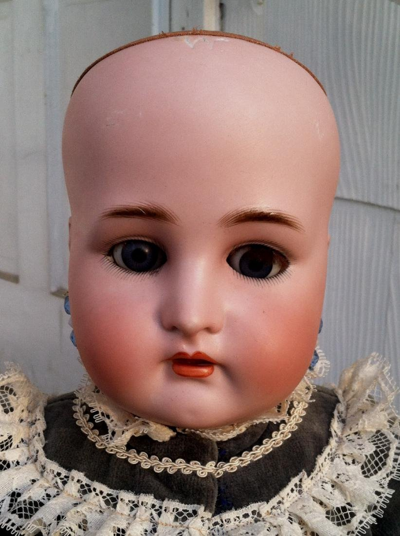 Large Bisque Head Doll by Simon & Halbig - 8