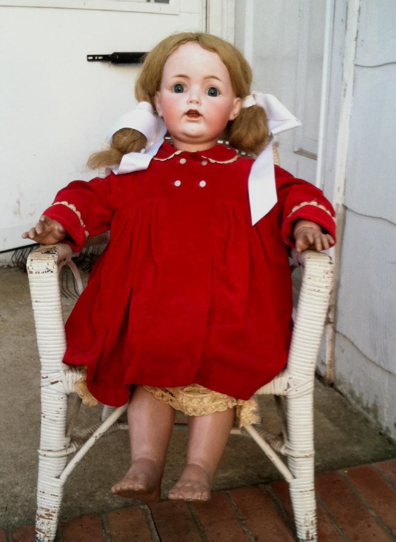 """30"""" Bisque Head Doll JDK [Kestner]"""