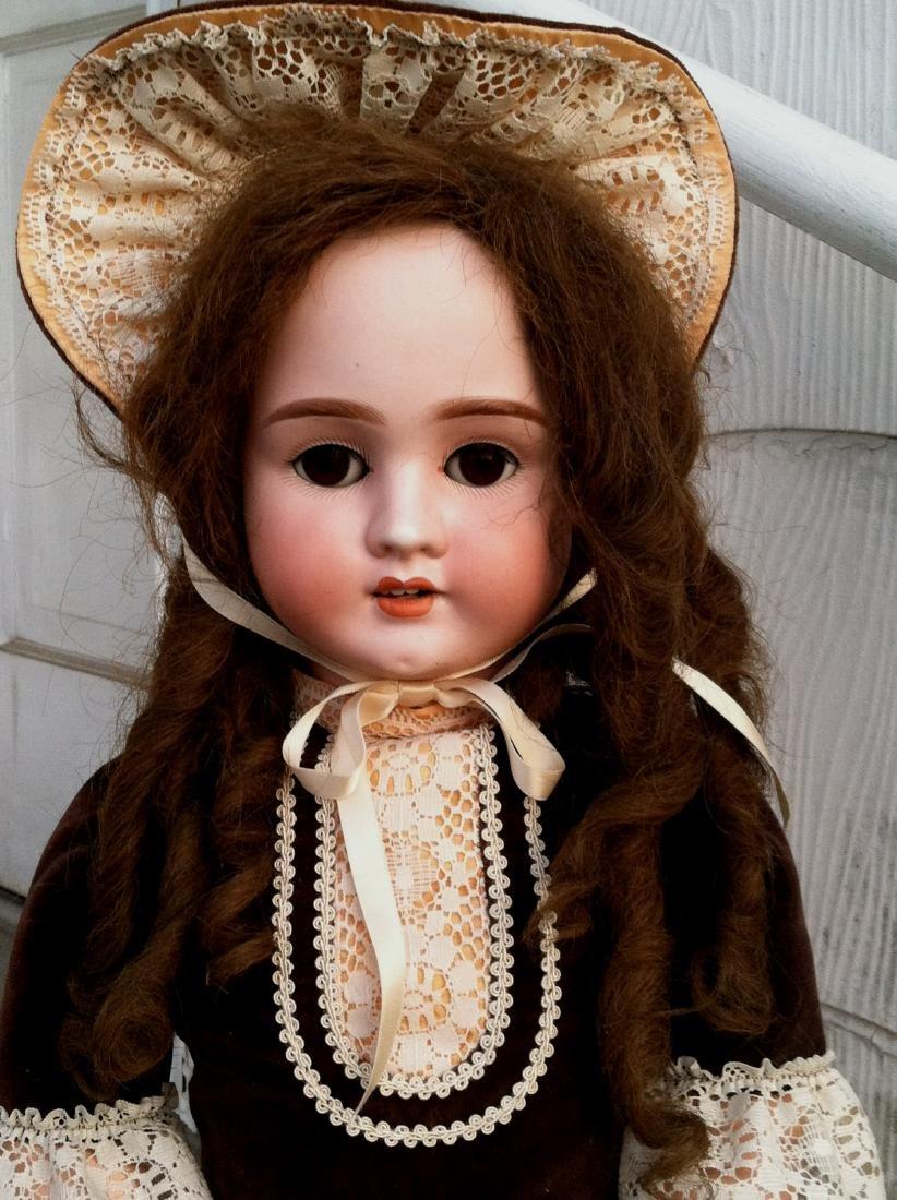 """Bisque Head Doll Schoenau & Hoffmeister 28"""" h. - 2"""