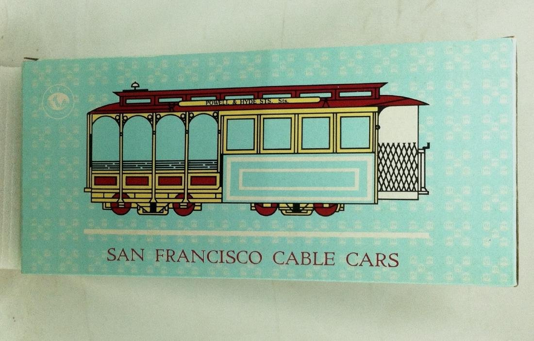 Musical Windup  Wood San Francisco Cable Car   NMIB - 2