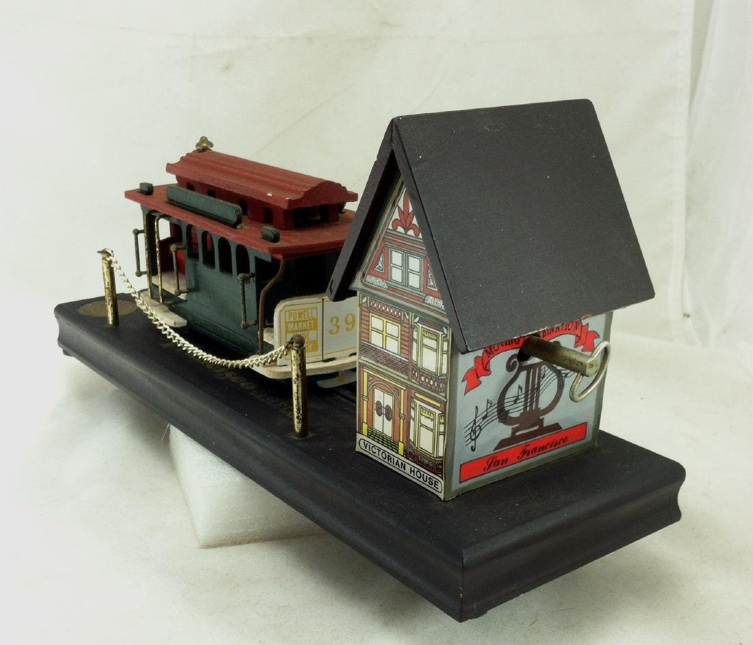 Musical Windup  Wood San Francisco Cable Car   NMIB - 9