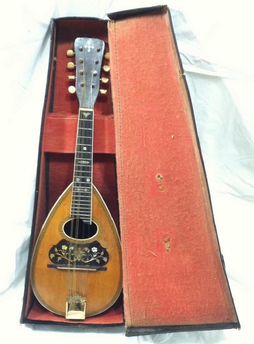"Antique Bowlback Mandolin ""Marguerite"" Model"