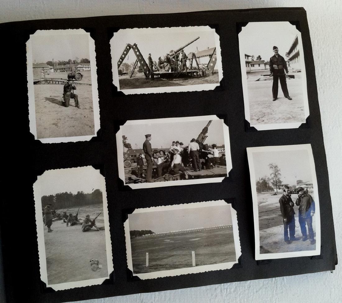 Photo Album WW2 era Army Life  Nov. 1941 to '46