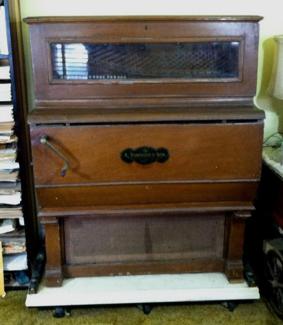 Antique Street Piano by A. Tomasso & Son
