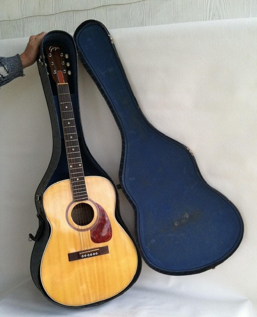Acoustic Guitar 6 String by Goya of Sweden 1964