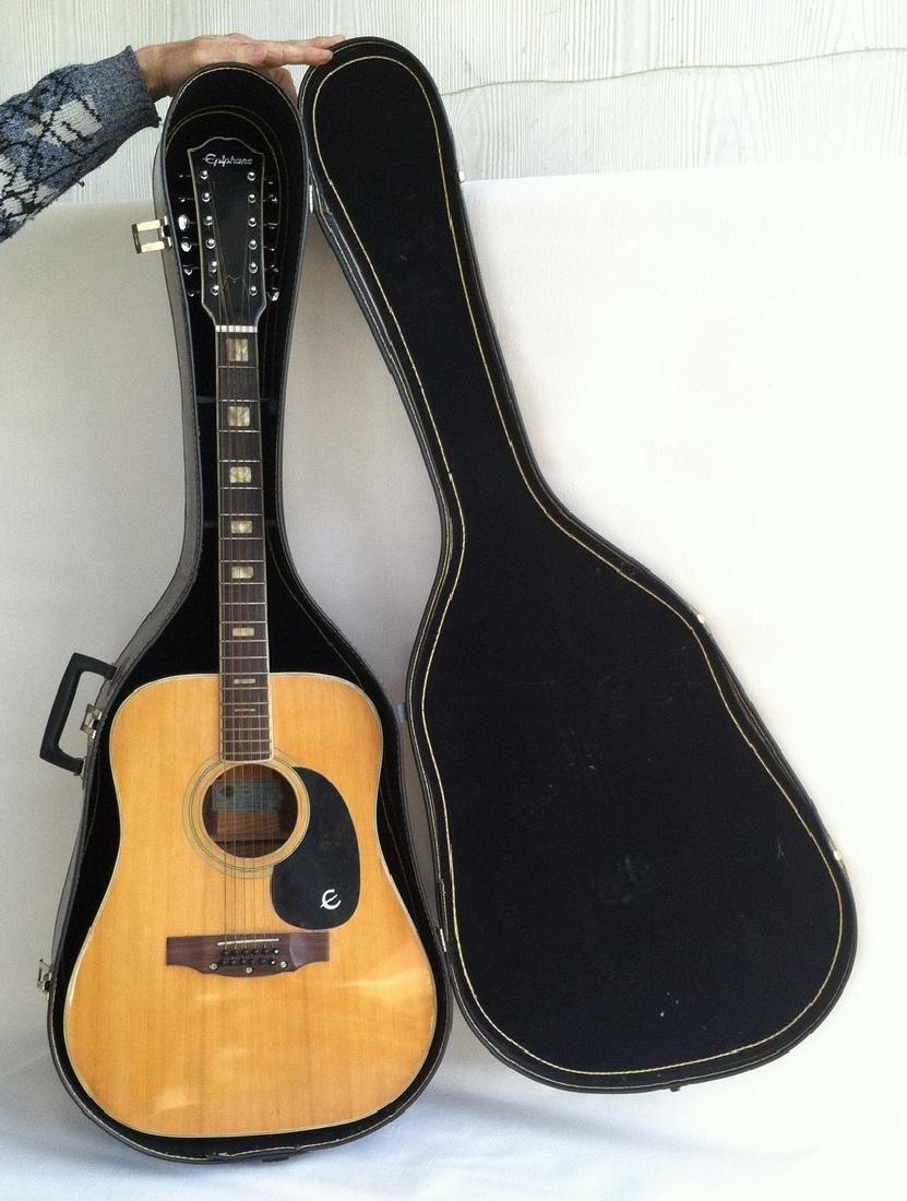 Epiphone 12 String Guitar FT-565 Excellente-12
