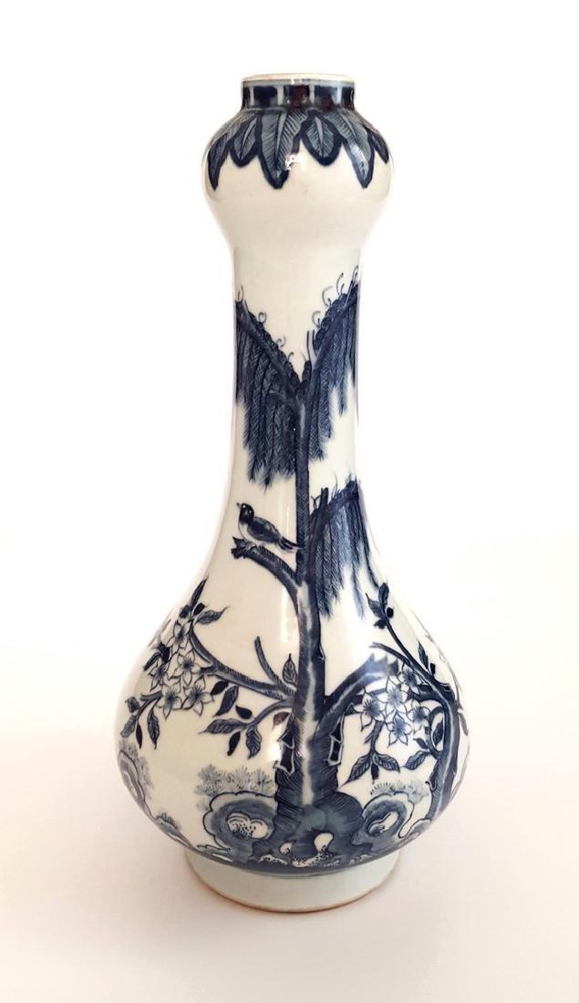 "Chinese ""Garlic-Head"" Bottle Vase 14"""