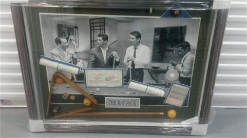 Ocean's 11 Rat Pack Photo autographed by all.