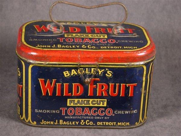 518: BAGLEYS WILD FRUIT TOBACCO TIN