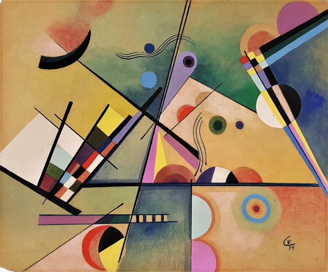 Composition 1934' Wassily Kandinsky