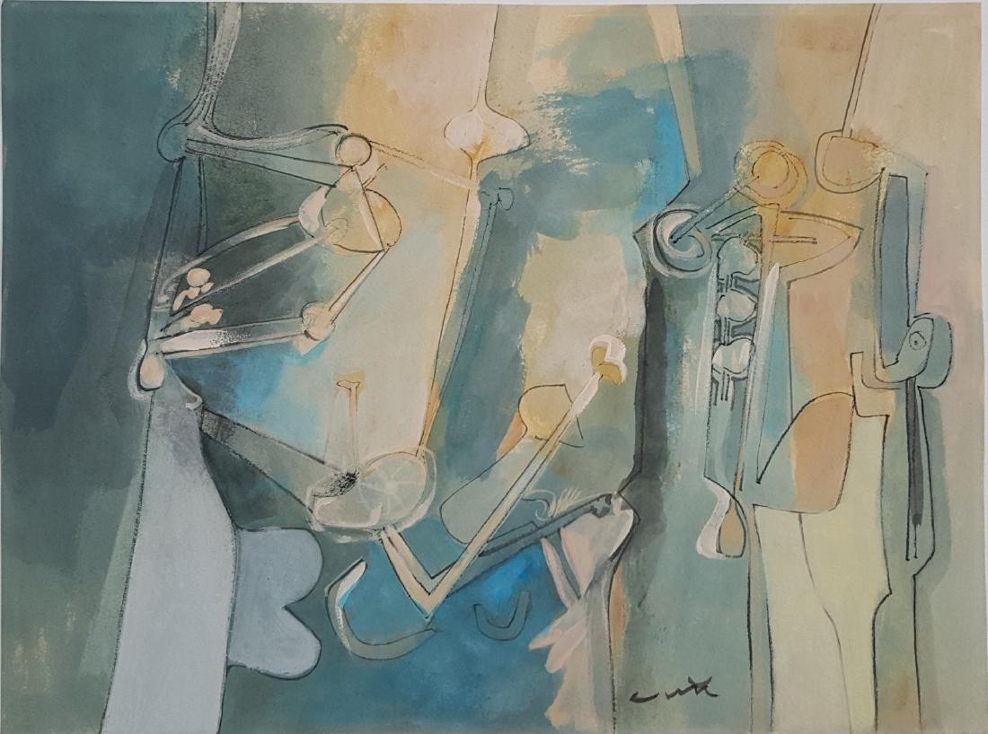 Roberto MATTA (1911-2002). Chile - France – Italy