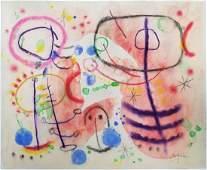 (Att.) Joan MIRO watercolor on paper