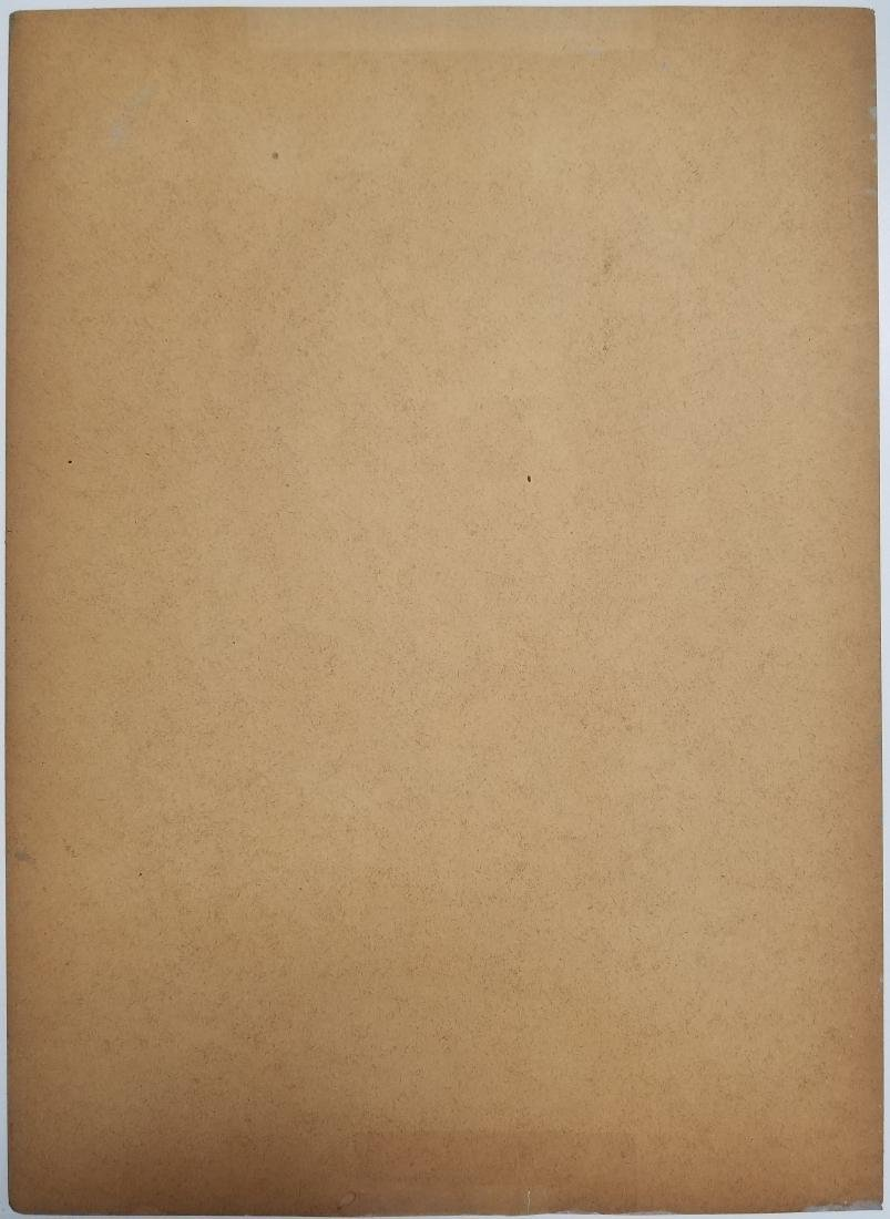 (Att.)Amedeo Modigliani gouache on paper - 2