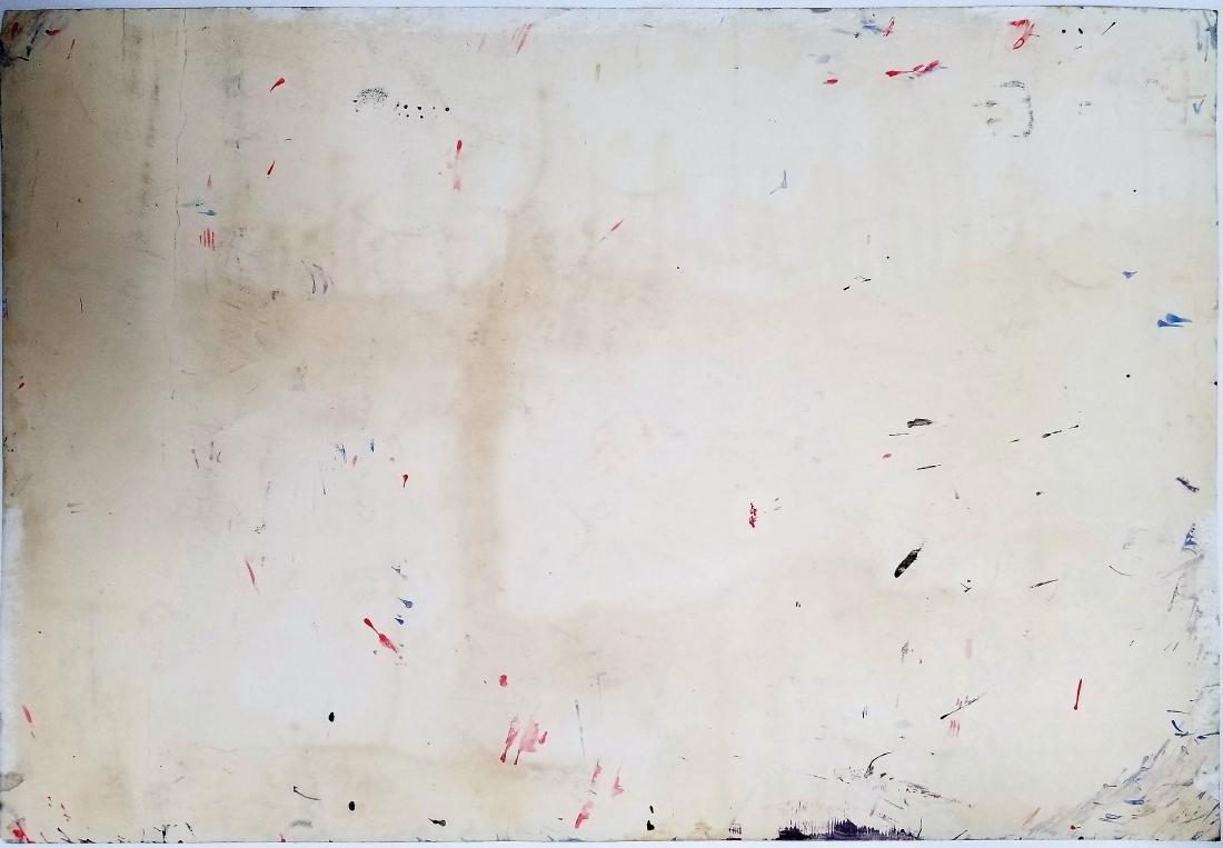 Mixed Media on paper signed Jackson Pollock - 2