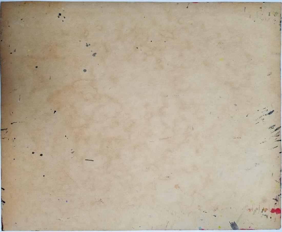 Jackson Pollock Mixed Media on paper - 2