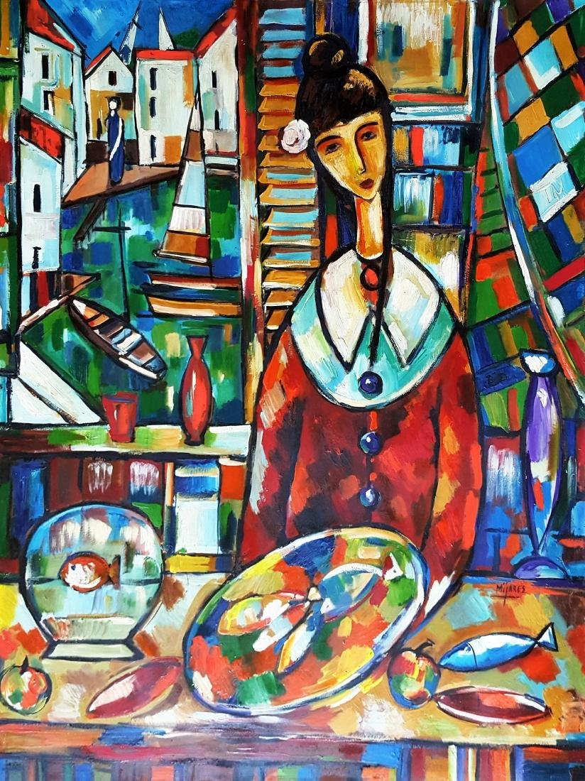 José Mijares (1921-2004). Cuba. Original.