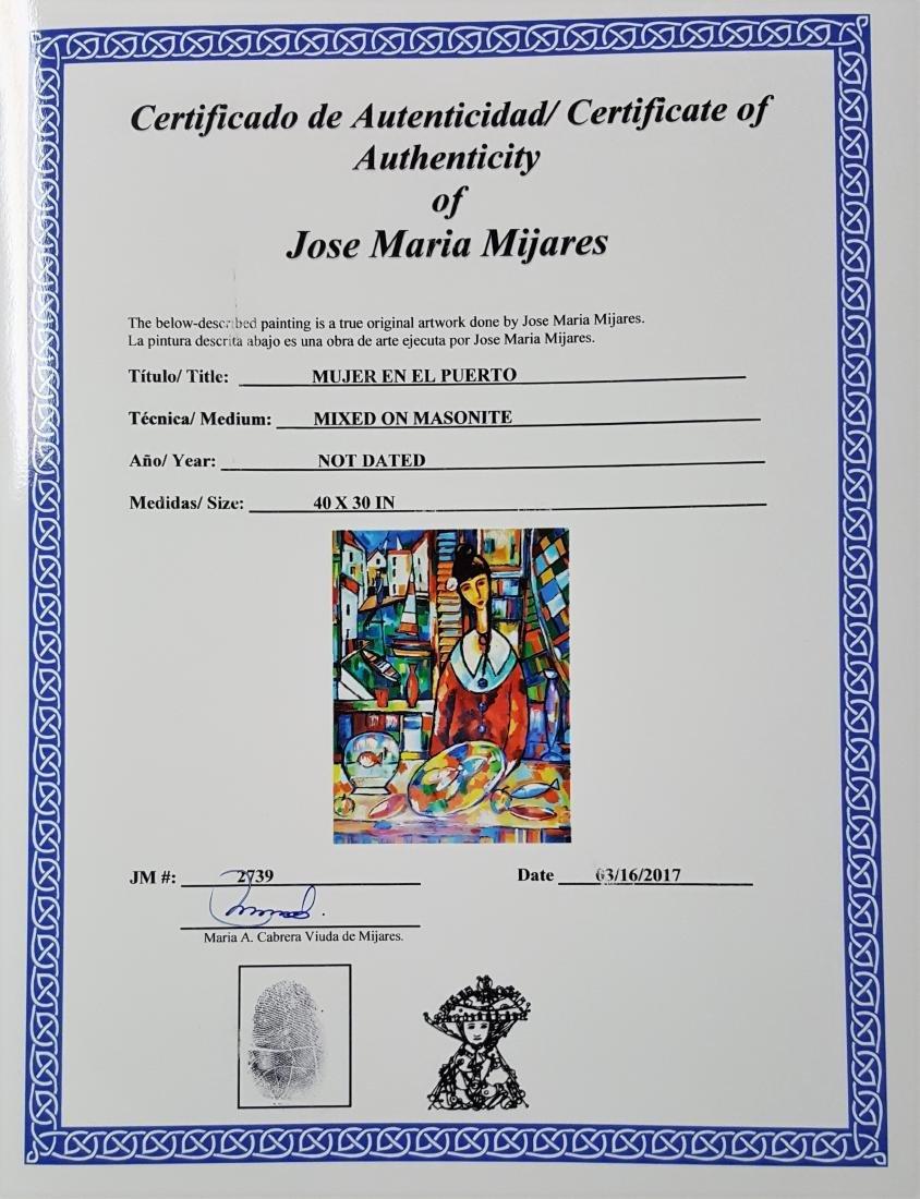José Mijares (1921-2004). Cuba. Original. - 3