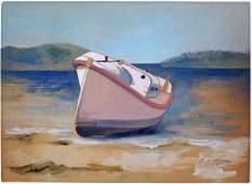 Edward Hopper watercolor on paperAtt