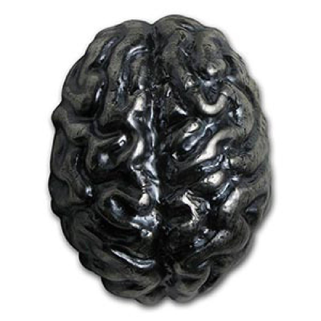 1 kilo Silver - MK Barz & Bullion (3D Brainium)