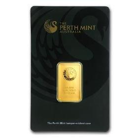 10 Gram Gold Bar - Perth Mint (in Assay)