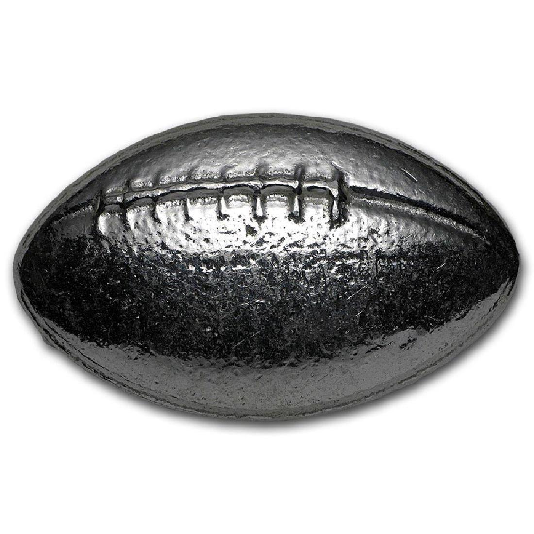 3 oz Silver Bar - Monarch Football