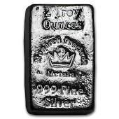2 oz Silver Bar - Monarch Precious Metals