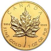 2002 Canada 1 oz Gold Maple Leaf BU