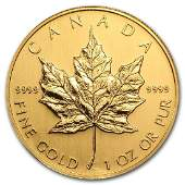2006 Canada 1 oz Gold Maple Leaf BU