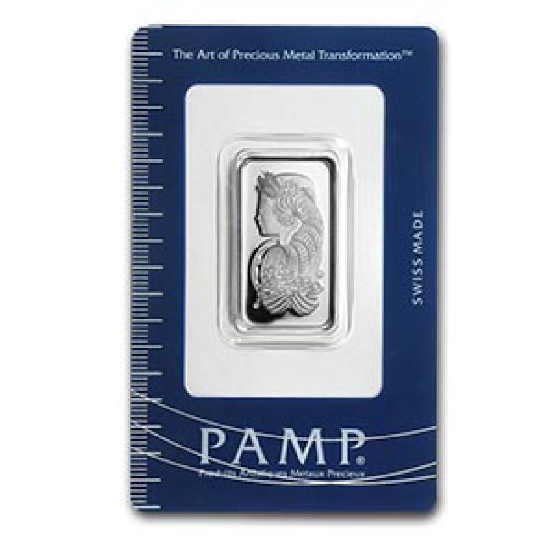 10 gram Silver Bar - PAMP Suisse (Fortuna)