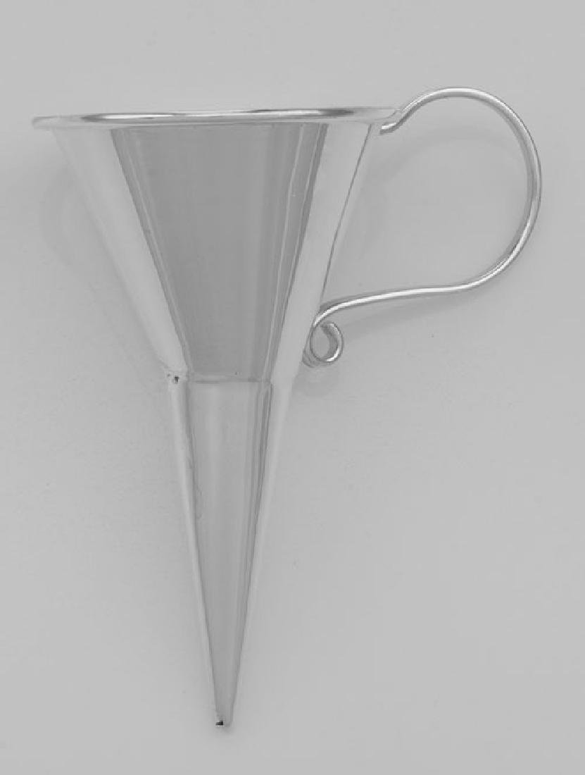 Perfume Funnel - Large - Sterling Silver - 2