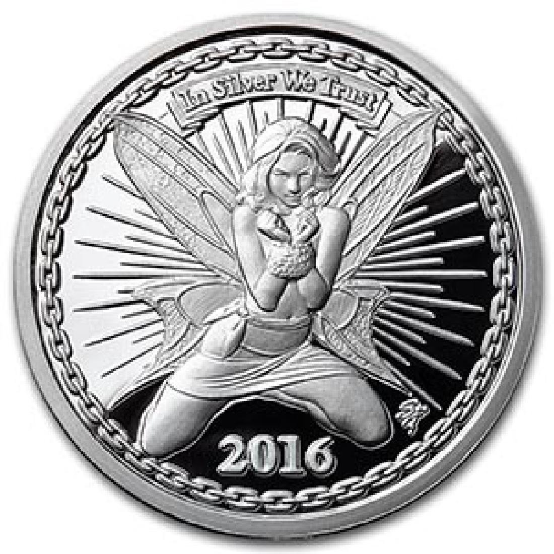 1 oz Silver Proof Round - Reddit Silverbug Alyx The Fai