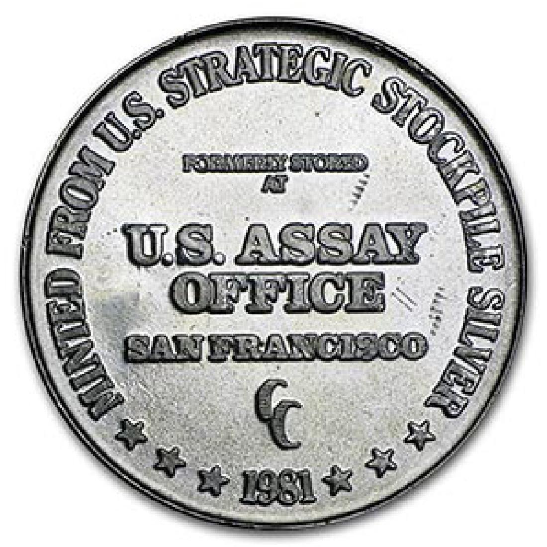 1 oz Silver Round - U.S. Assay Office