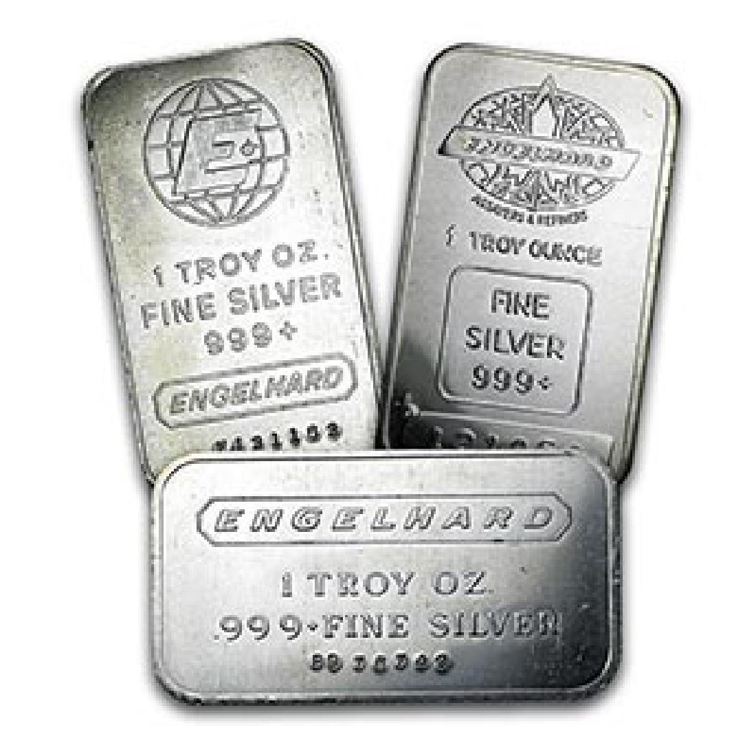 1 oz Silver Bar - Engelhard