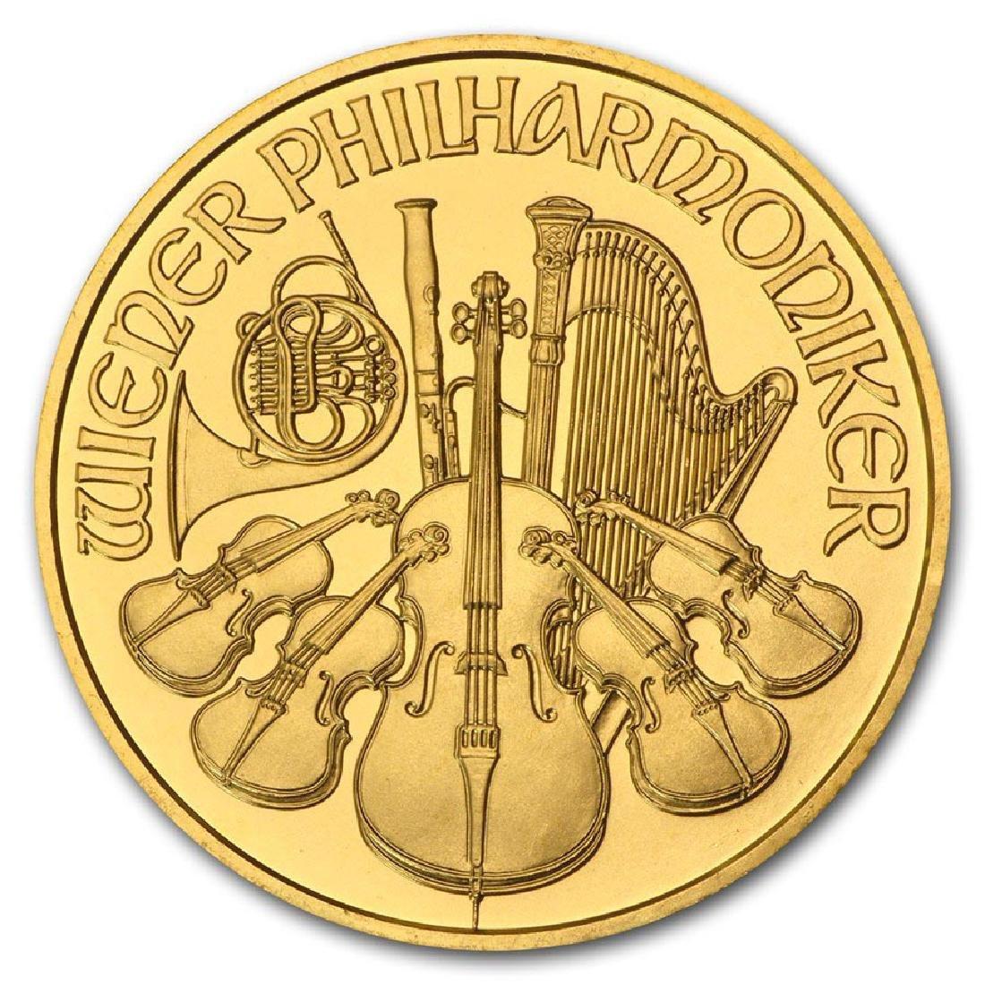 2008 Austria 1 oz Gold Philharmonic BU