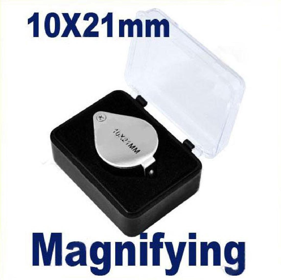 10x 21mm Durable Jewelers Eye Loupe Magnifier Magnifyin