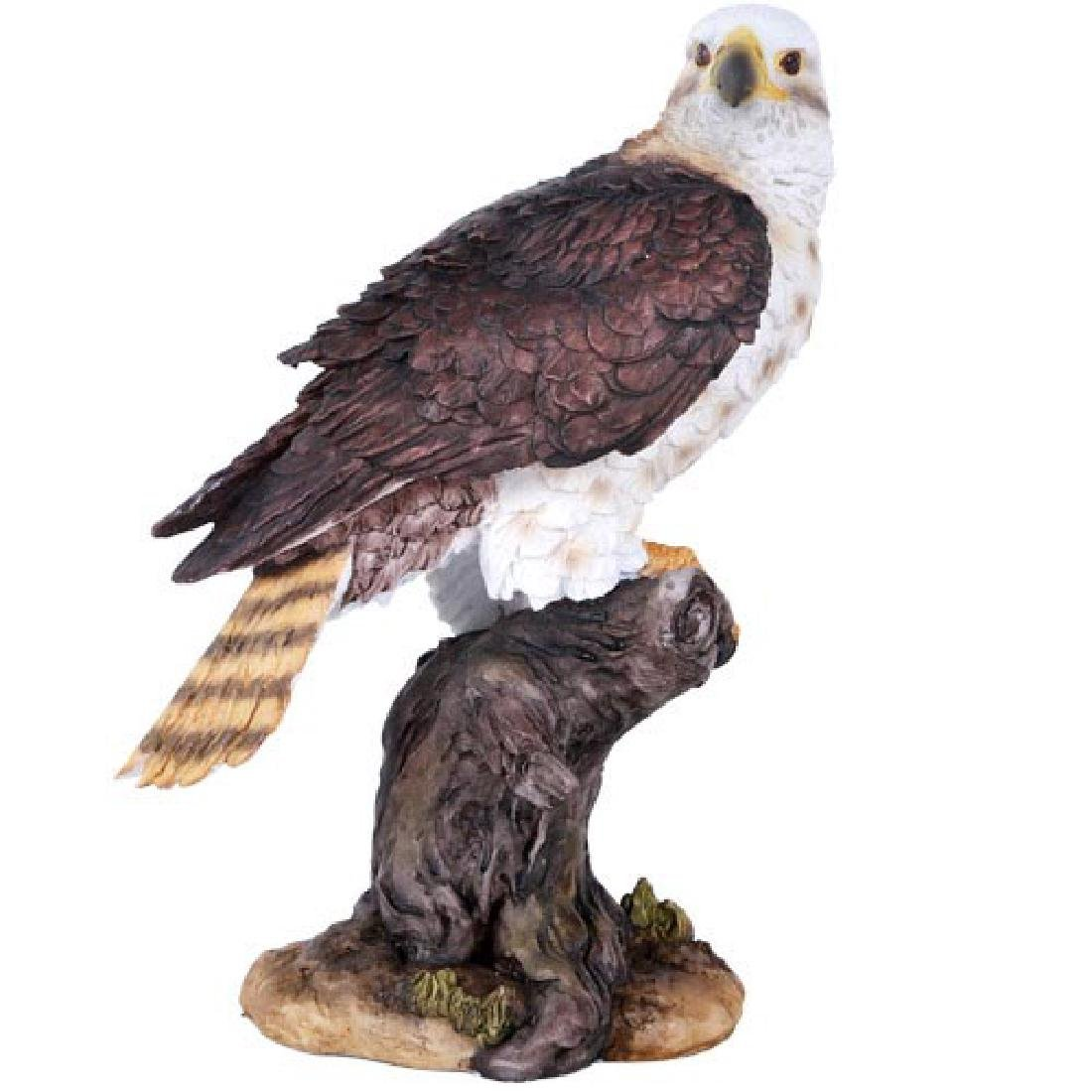 """HAND PAINTED COLD CAST RESIN EAGLE 5"""" x 6"""" x 10"""""""