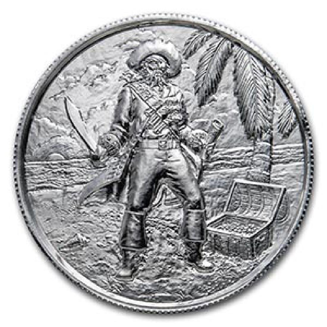 2 oz Silver Round - The Captain