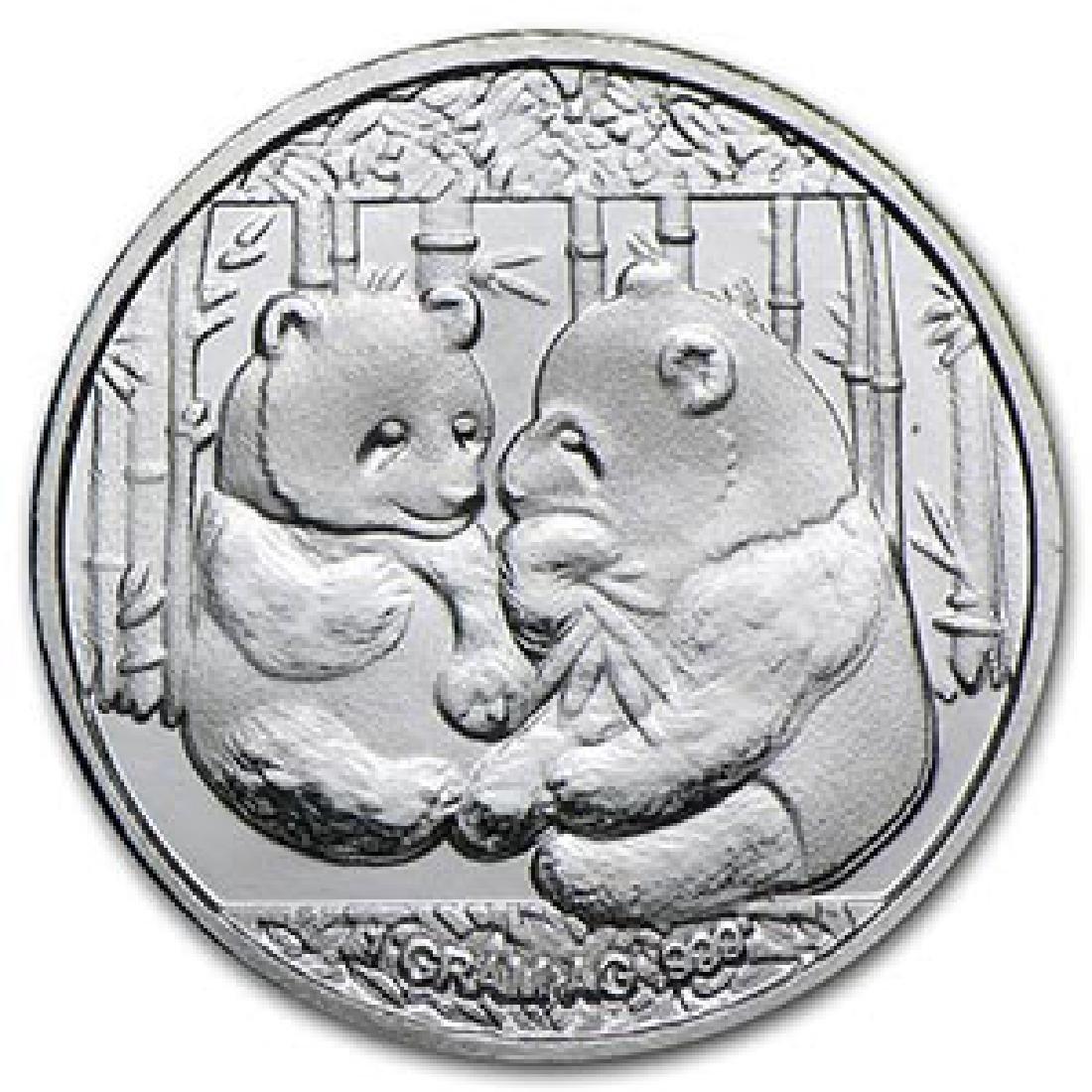 1 gram Silver Round - Panda