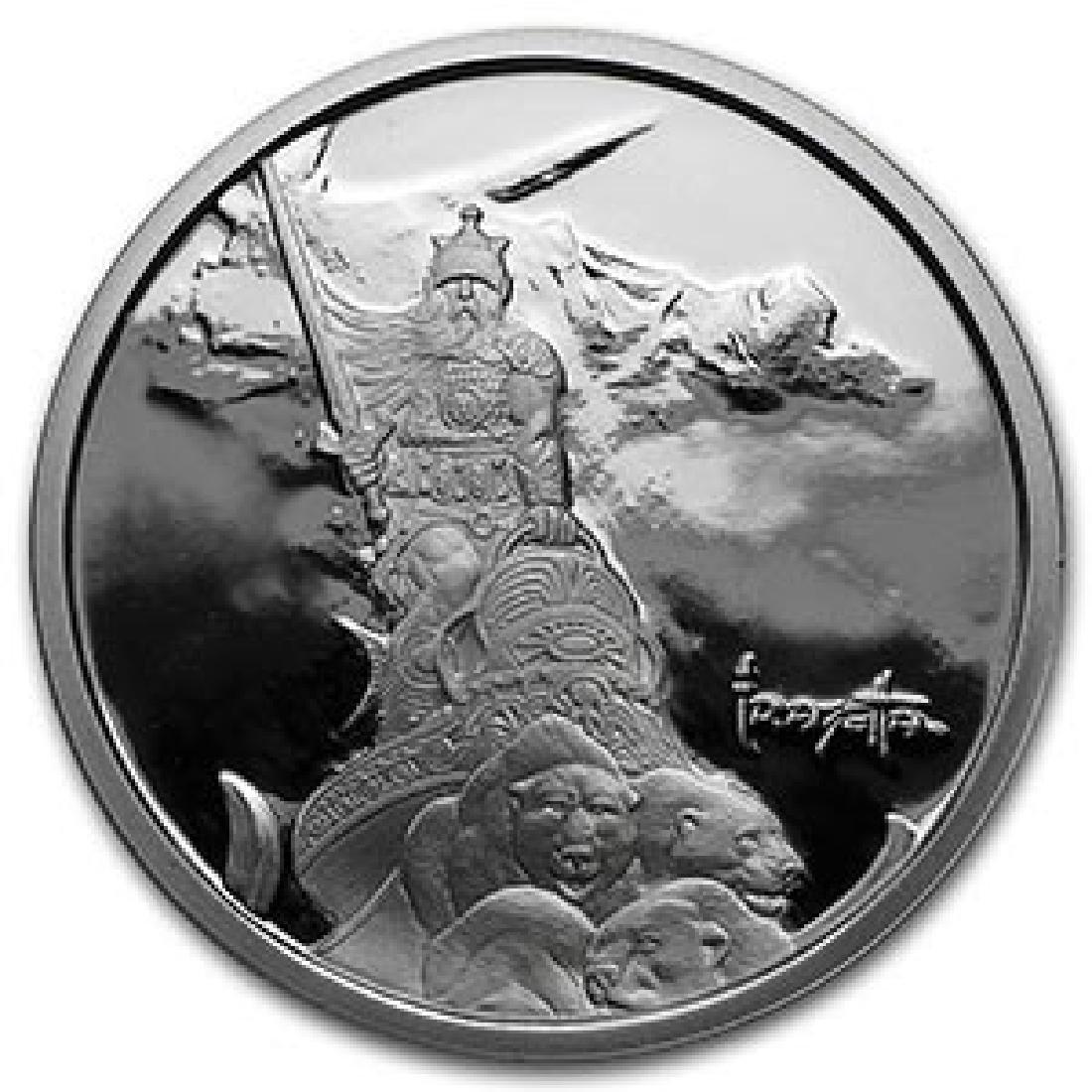 1 oz Silver Proof Round - Frank Frazetta (Silver Warrio