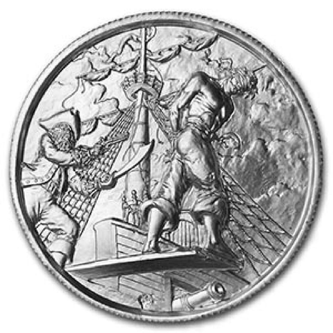 2 oz Silver Round - The Plank