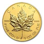 2005 Canada 1 oz Gold Maple Leaf BU